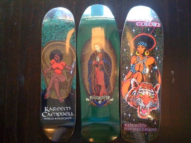 New Decks Some Re Issue Graphics The Galaxie Skateshop
