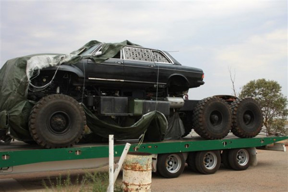 Top Gear Car: 6 Wheeled Monster Off-Road Mercedes Mutant