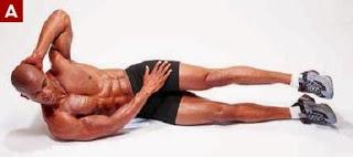 تمارين عضلات البطن للمبتدئين