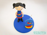 topo de bolo show da luna biscuit