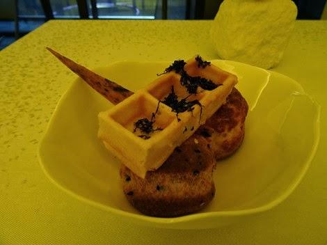 Amuse bouche restaurant Sur Mesure par Thierry Marx au Mandarin Oriental.