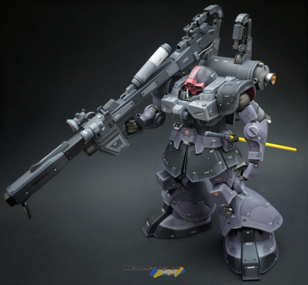 "Custom Build: MG 1/100 Rick Dom Custom ""Thunderbolt ver."" - Gundam Kits Collection News and Reviews"