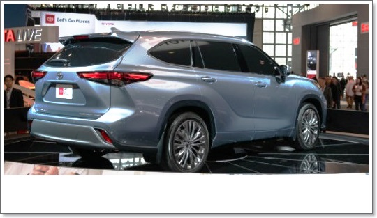 2021 Toyota Highlander MSRP