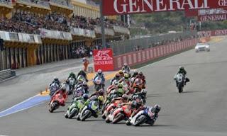 Hasil MotoGP Valencia Spanyol: Marquez Tercepat Sesi Pemanasan