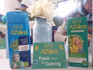 Perawatan Rambut Halusku dengan Shampoo Azalea