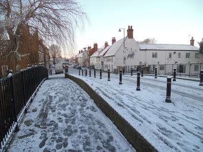 Picture five of snow and ice in Brigg on January 23, 2019 by Nigel Fisher