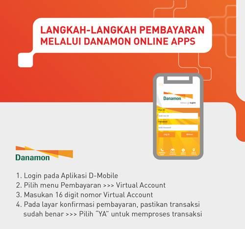 Tata Cara Pembayaran VA Danamon melalui Danamon Online Apps