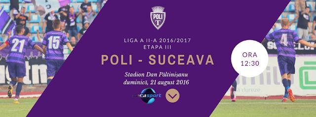 Politehnica Timișoara - Foresta Suceava, Live pe Digisport 1, 21 august, de la ora 12:30