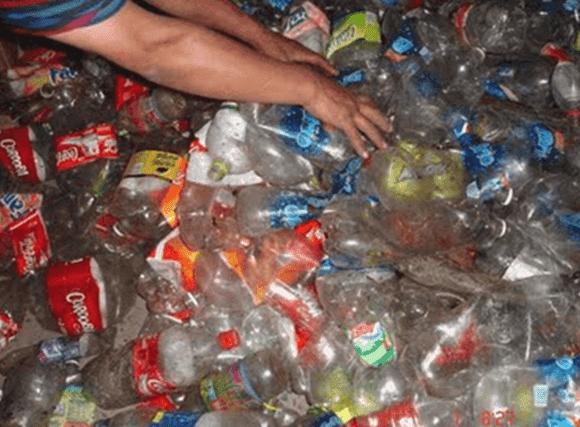 Reciclar-plástico