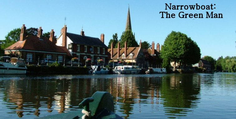 Narrowboat: The Green Man.