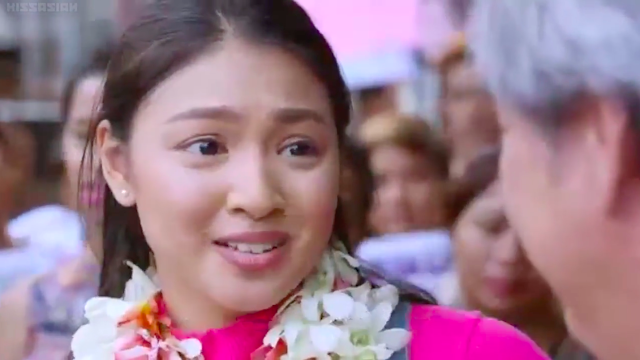 Nadine Lustre in 2015 Filipino teleserye OTWOL On the Wings of Love