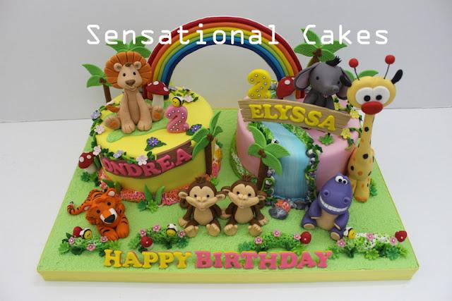 ANIMALS CAKE SINGAPORE