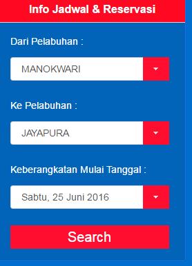 info jadwal dan reservasi