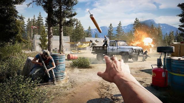 """عرض جديد بالفيديو للعبة Far Cry 5 بعنوان """" المقاومة """""""