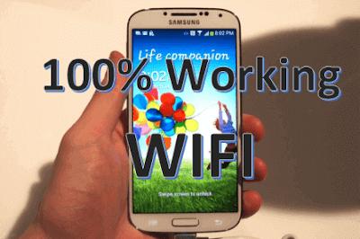 الحل النهائي لمشكلة الوايفاي لجهاز Galaxy S4 GT-I9505