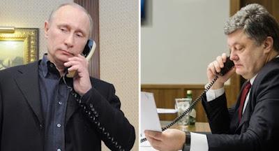 """Порошенко зателефонував Путіну перед зустріччю глав МЗС у """"нормандському форматі"""""""