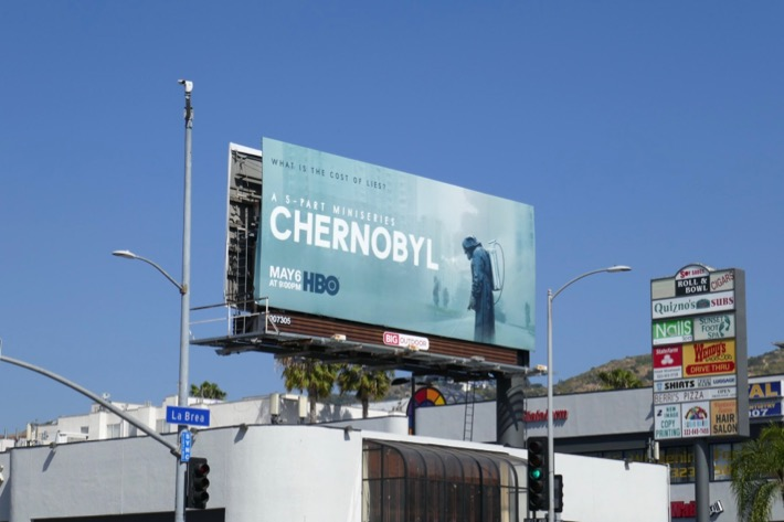 Chernobyl TV series billboard