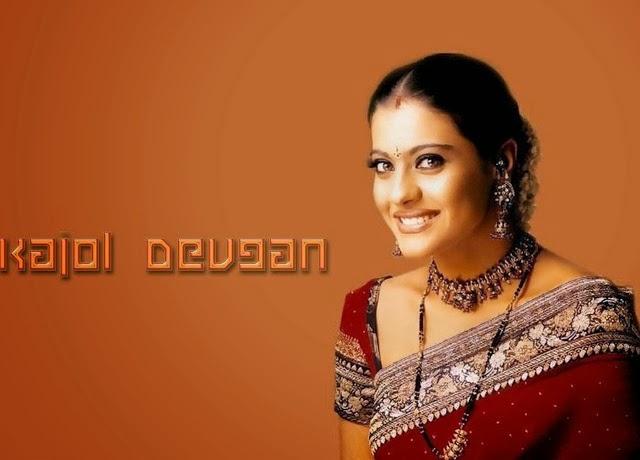 Beautiful Kajol Devgan Photos In Attractive Sexy Saree