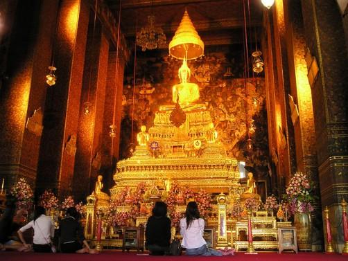 A Temple In Bangkok, Thailand