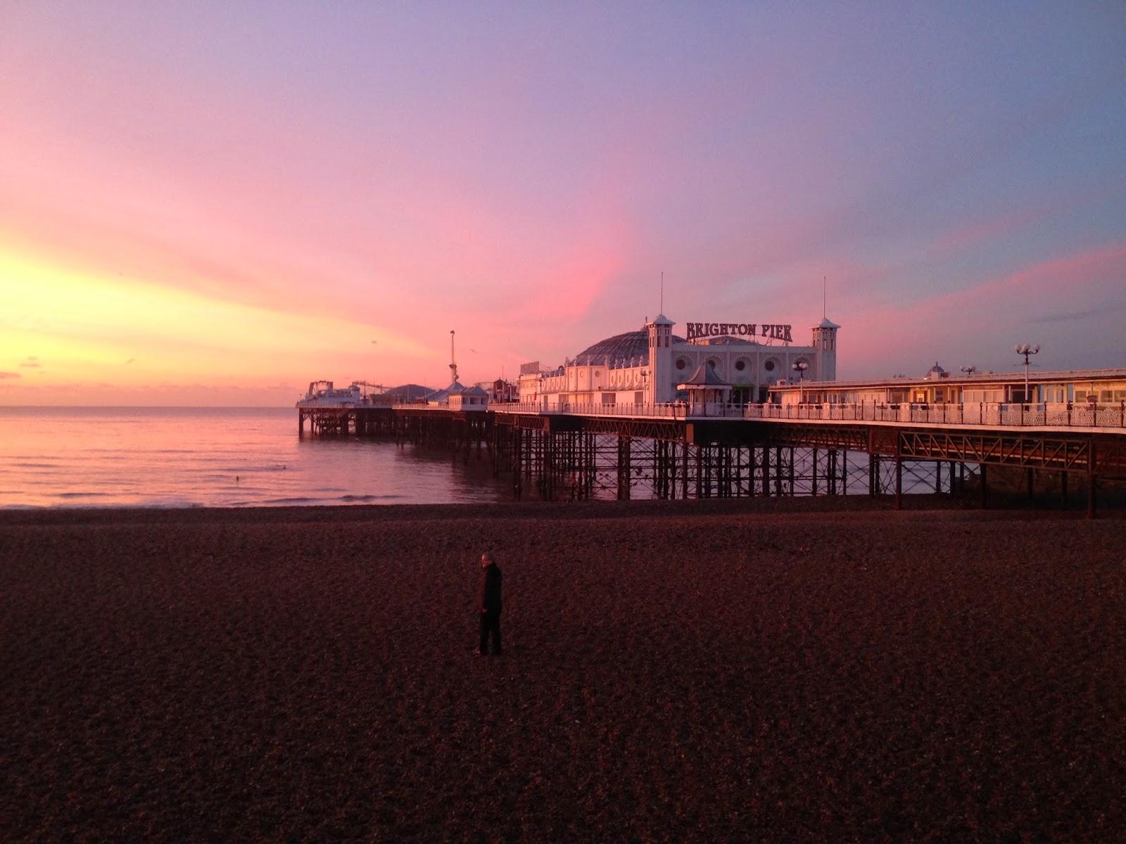 Brighton Pier sunrise - Tess Agnew