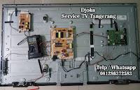 service tv polytron tangerang