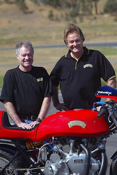 Irving Vincent Motorcycle Ken Barry Horner KHE HRD