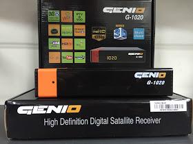 GENIO G-1020 HD ATUALIZAÇÃO V1.017 - 06/08/2016