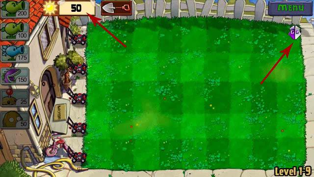 cheat plant vs zombie mod apk