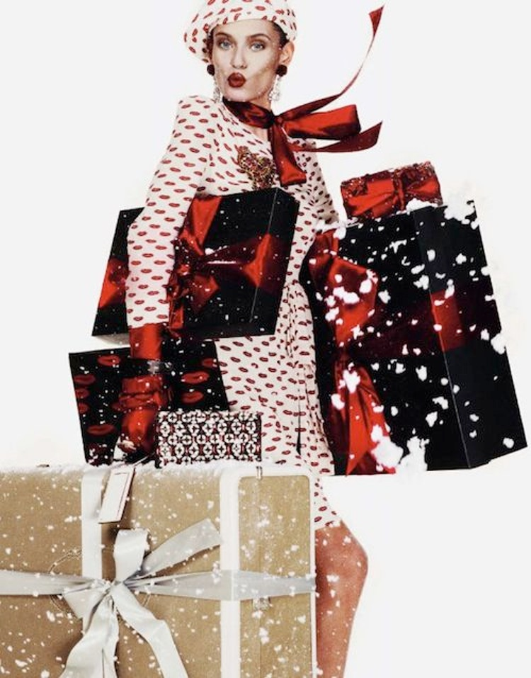 Vogue Paris Christmas fashion editorial - UK style blog