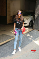 Cute Esha Gupta in Black T Shirt and Denim Jeans ~  Exclusive Galleries 003.jpg