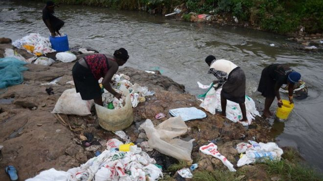 Kenya plastic bag ban comes into force after years of delays
