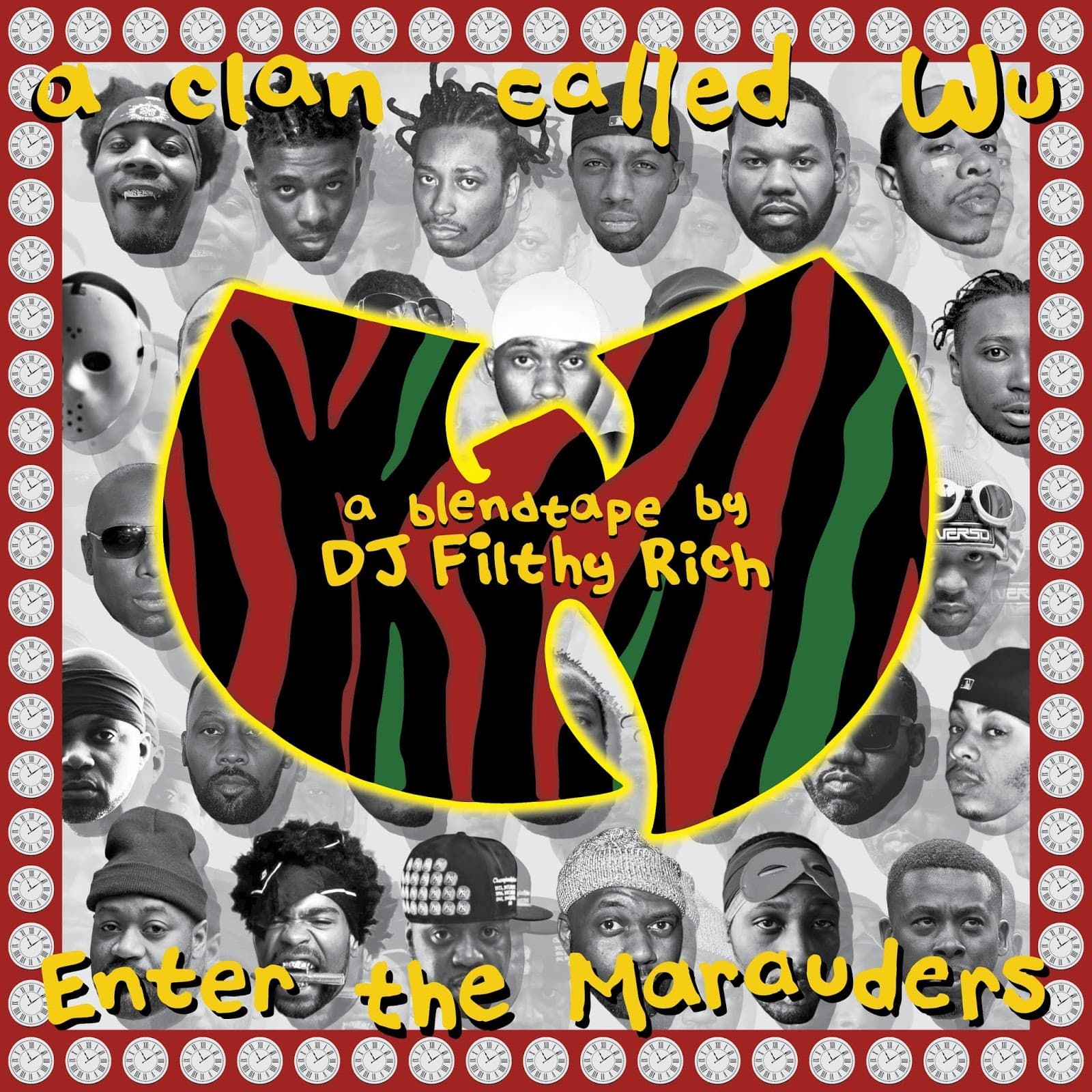 A Clan Called Wu - Enter The Marauders | Wu-Tang Vocals auf ATCQ Beats Mixtape