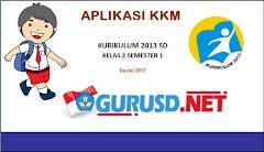 Aplikasi KKM Kurikulum 2013 Revisi Kelas 2 dan 5 Semester 1