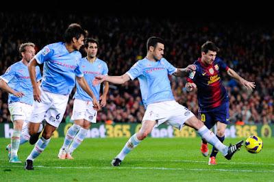 Barcelona consigue ganar 5 a 0 al Celta de Vigo