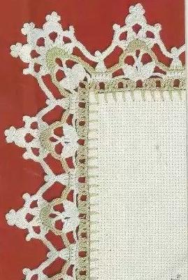 Patrón #1476: Puntilla a Crochet Publicar