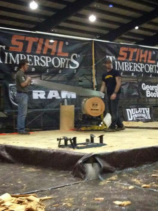 Caleb Hawkins Competes in the Stihl Regional Qualifier