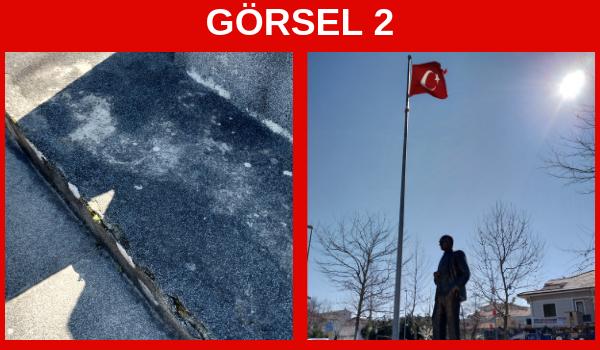 Ağva Atatürk Heykeli Bakım Bekliyor