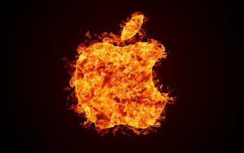 Wallpaper: Apple Fire & Apple Water