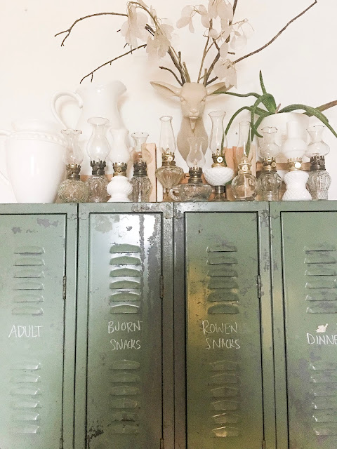 glass oil lanterns