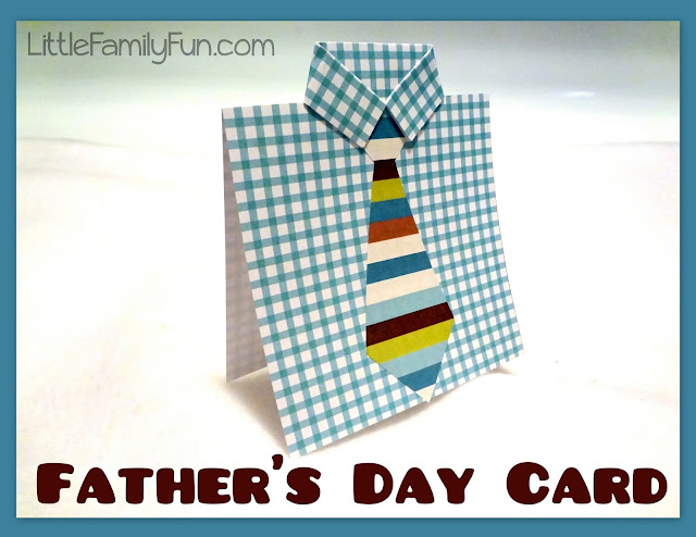 Little Family Fun: Easy Father's Day Card