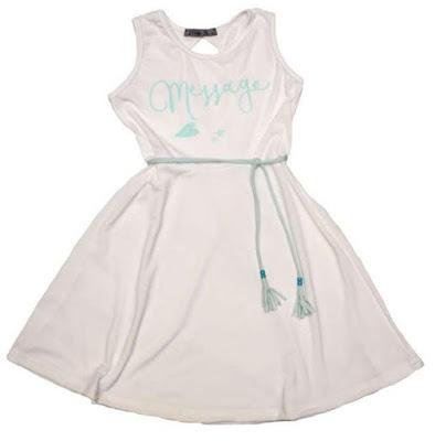 Moda primavera verano 2018 vestidos de niñas.