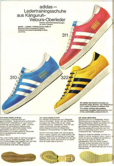 German Adidas Catalogue, 1968 ~ vintage everyday
