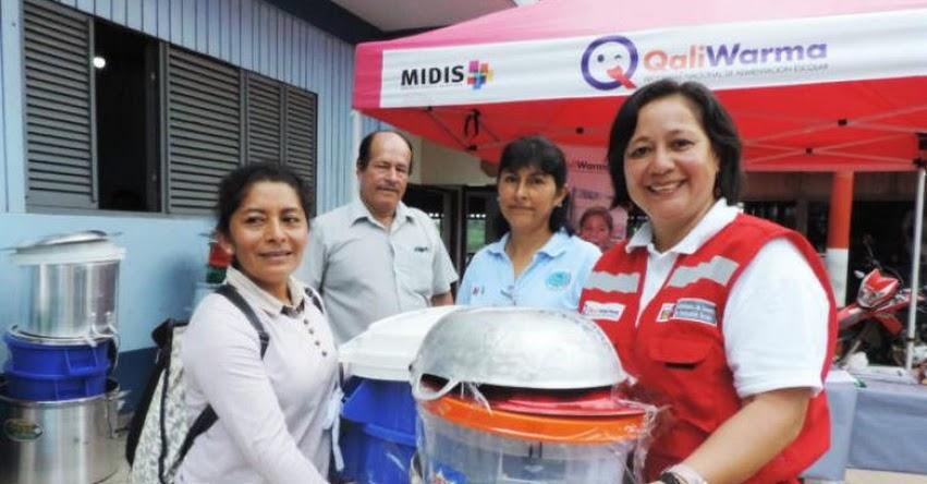 Qali Warma y municipio de Condorcanqui entregaron utensilios de cocina a II. EE. más alejadas del distrito de Nieva - www.qaliwarma.gob.pe