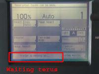 Mengatasi mesin fotocopy tidak mau ready ir 6000.