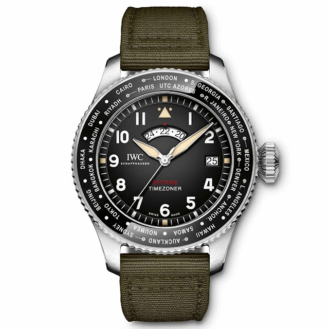 "IWC Pilot's Watch Timezoner Spitfire Edition ""The Longest Flight"" (ref. IW395501)"