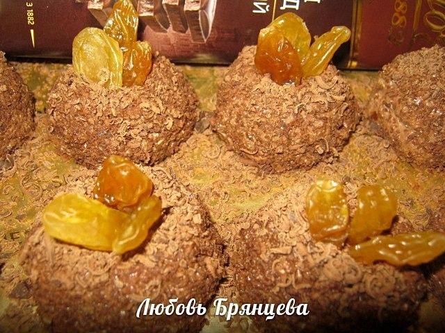 творожные конфеты рецепт с фото