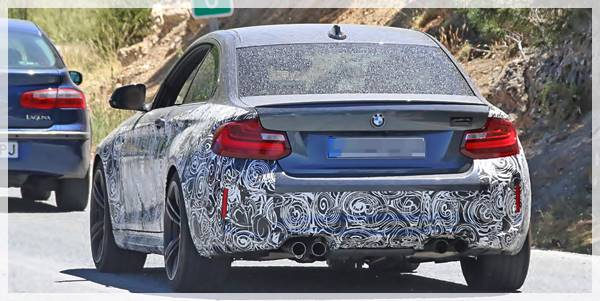 2018 BMW M2 LCI Spied and Review