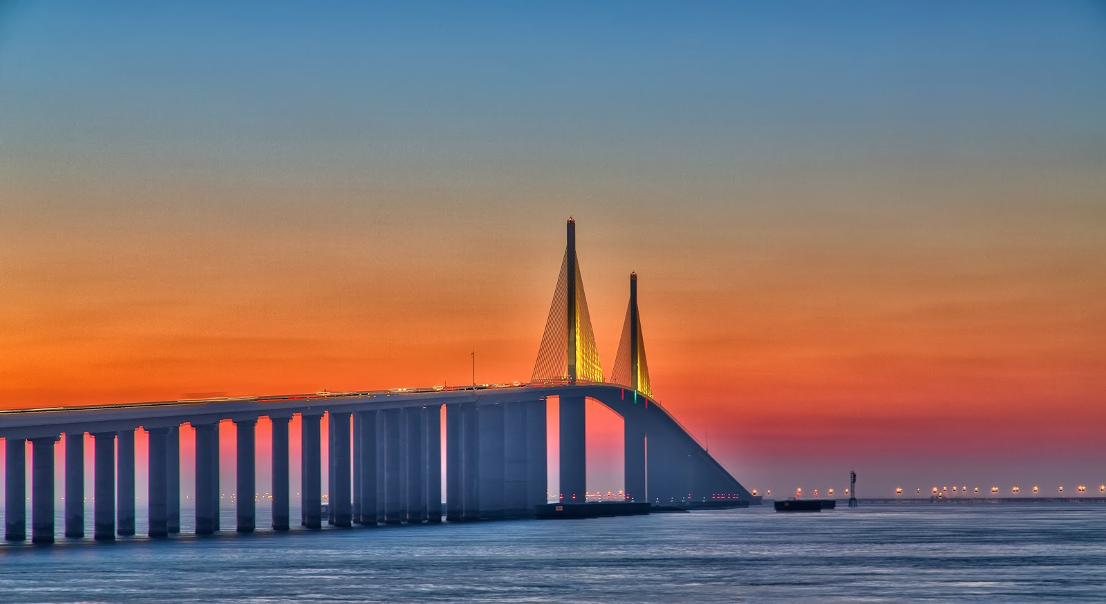 Cigar City Reflections Sunshine Skyway