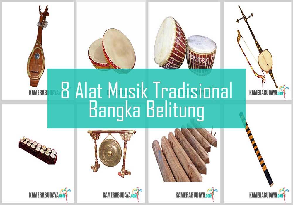 Inilah 8 Alat Musik Tradisional Dari Bangka Belitung