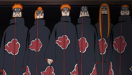 Six Paths of Pain เพน 6 วิถี @ Naruto Shippuden
